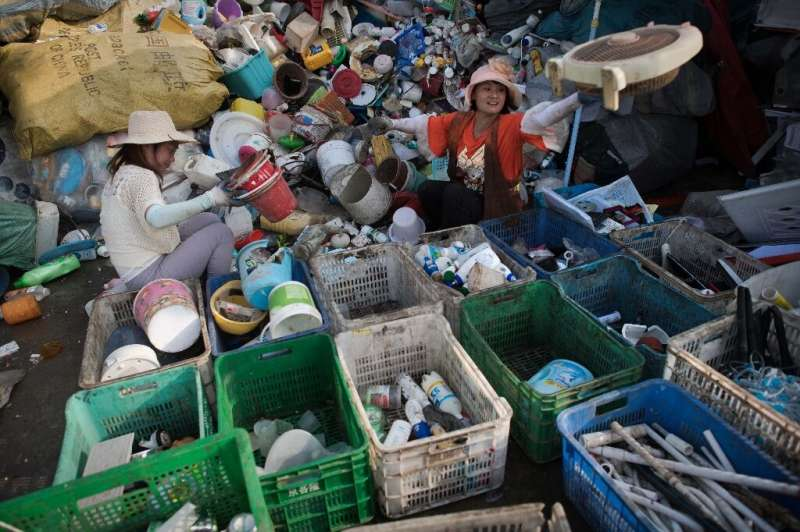 China is one of the world's biggest users of plastic