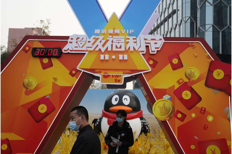 China's Alibaba, Tencent unit fined under anti-monopoly law