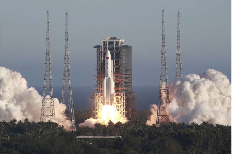 China says experimental spaceship operating normally