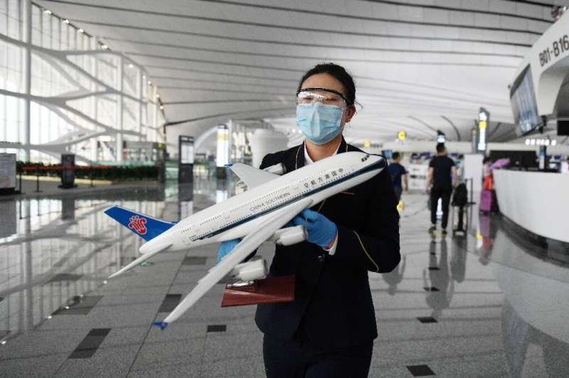 China Southern Airlines reported a lower loss in the second quarter and said the aviation market in China would be the first to