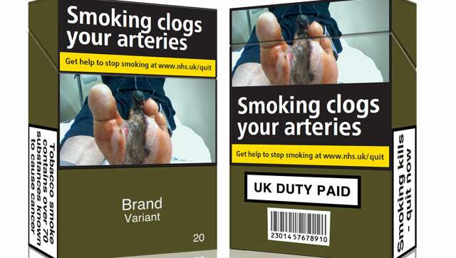 Cigarette sales declining by 20 million a month after advent of standardized packaging