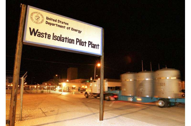 Cleanup of US nuclear waste takes back seat as virus spreads