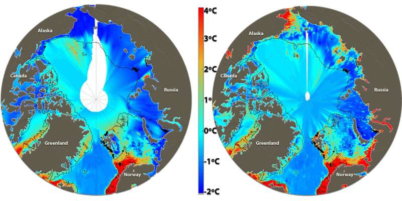 Climate gas budgets highly overestimate methane discharge from Arctic Ocean