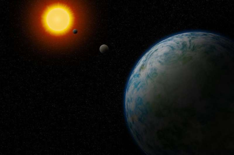 'Cold Neptune' and two temperate super-Earths found orbiting nearby stars