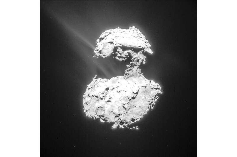 Comet Chury's ultraviolet aurora