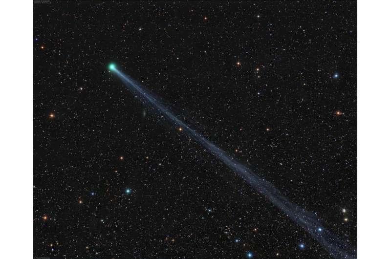 Comet SWAN at its best