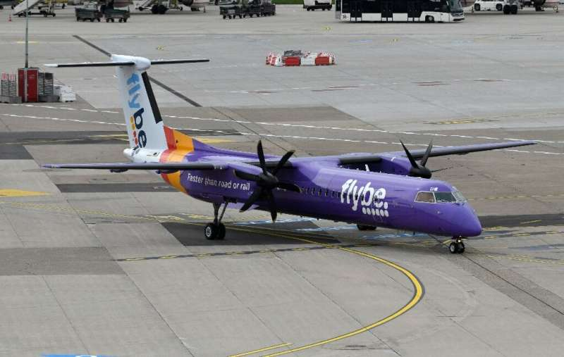 Competitors are not happy about the UK government rescue of Flybe