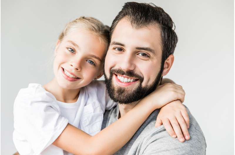 Conversational difficulties with father affects adolescent health