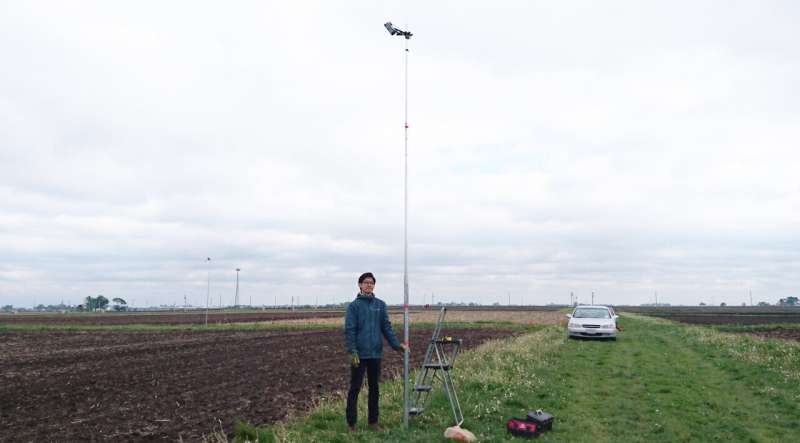 Corn productivity in real time: Satellites, field cameras, and farmers team up