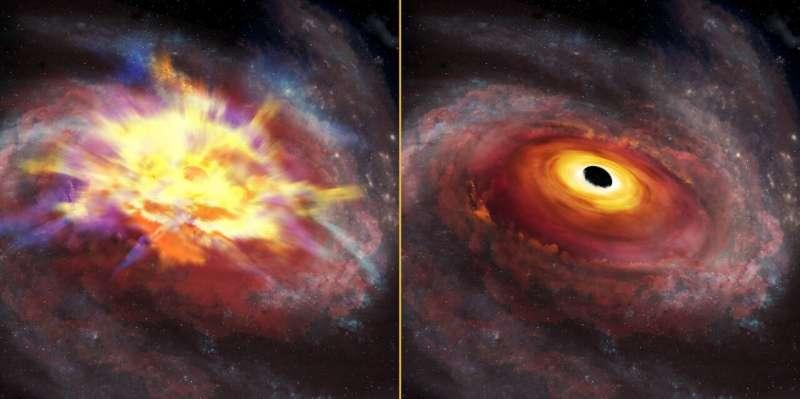 Cosmic tempest