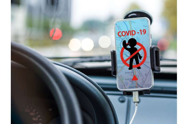 covid driving
