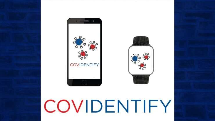 'CovIdentify' pits smartphones and wearable tech against the coronavirus