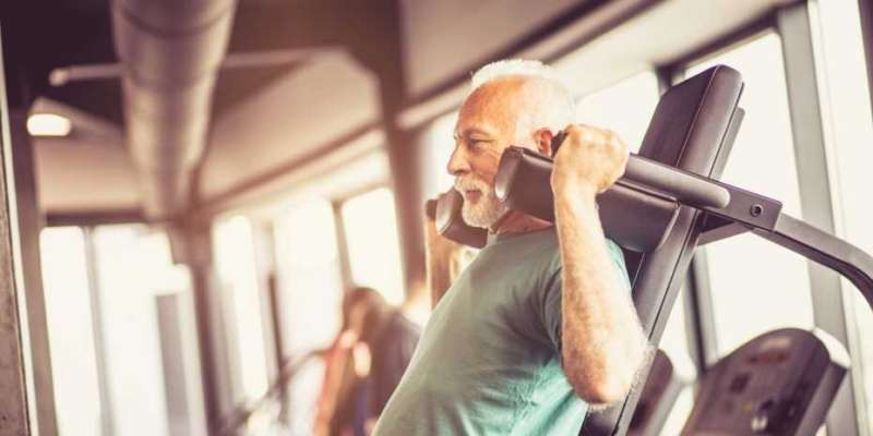 Data-driven resistance training against muscular atrophy