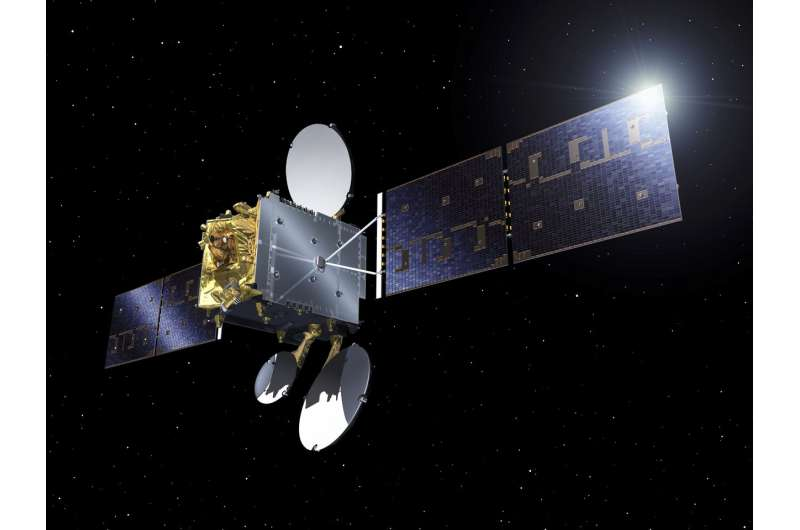 Data-relay satellite ready for service