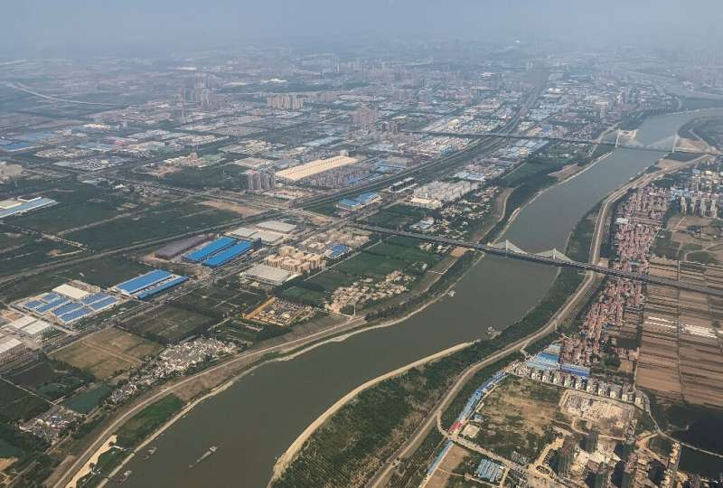Decades of rapid development has left the Yangtze, the world's third longest river, and its tributaries choked with toxic chemic