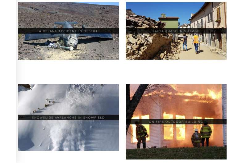 Detecting and responding to incidents with images