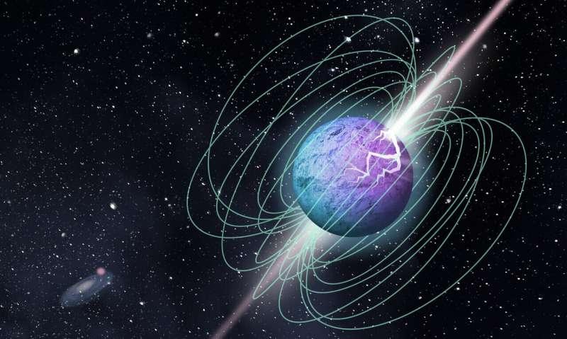 Detection of a short, intense radio burst in Milky Way