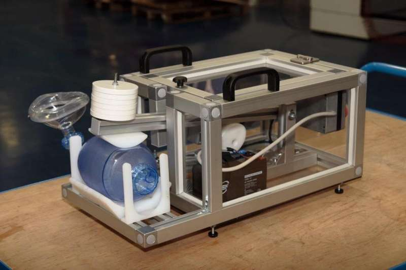 DIEGO: The first low-cost and totally mechanical emergency lung ventilator