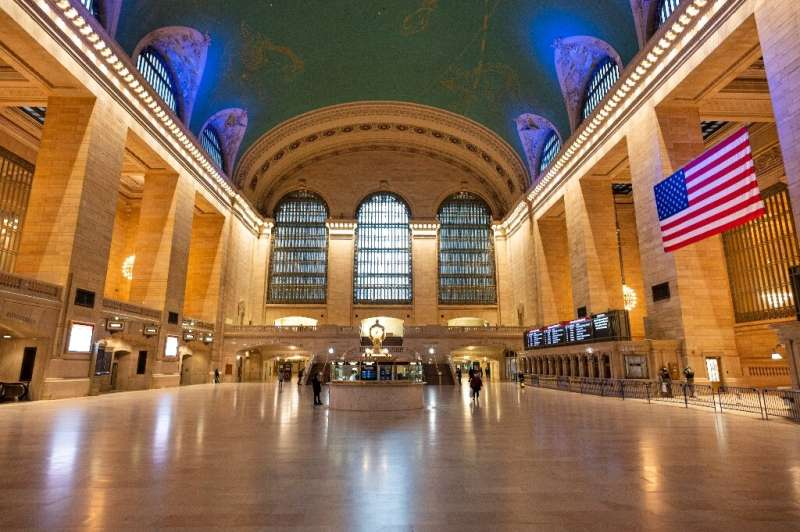 Don't expect the pre-lockdown crowds at places like Grand Central Station, as the return to work in New York will likely be slow