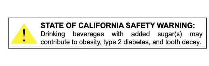 Do warning labels help people choose healthier drinks?