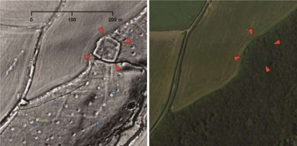 Dozens of prehistoric, Roman and medieval sites discovered by archaeology volunteers working at home during lockdown