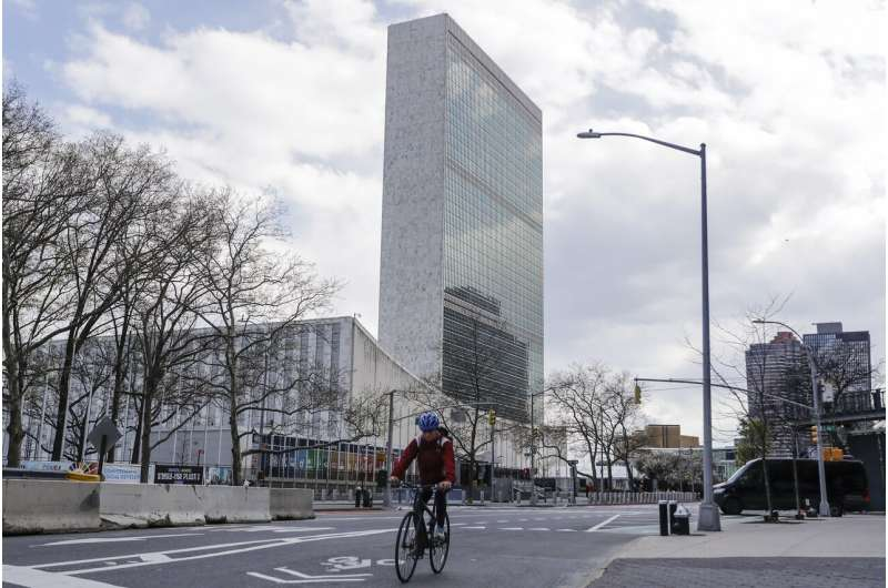 Draft UN resolution urges global access to COVID-19 material