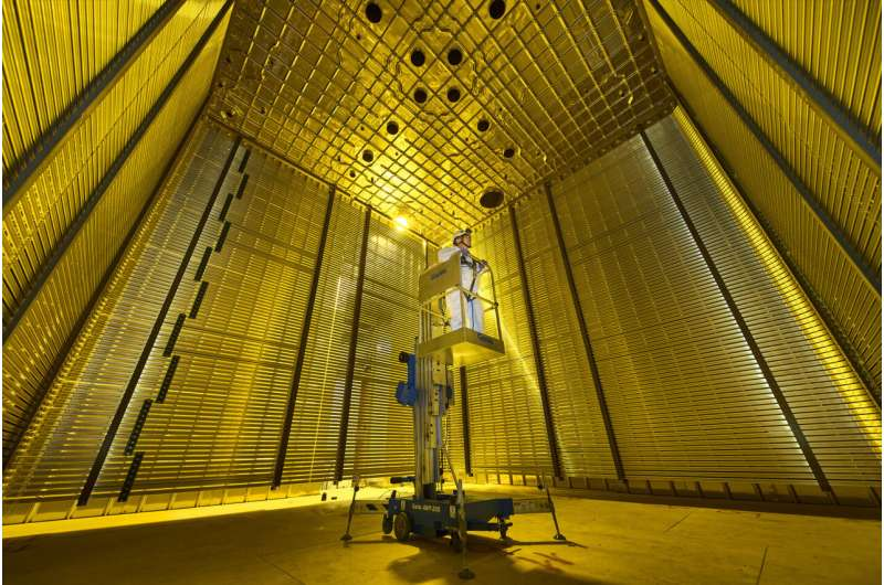 DUNE publishes first physics results from prototype detector