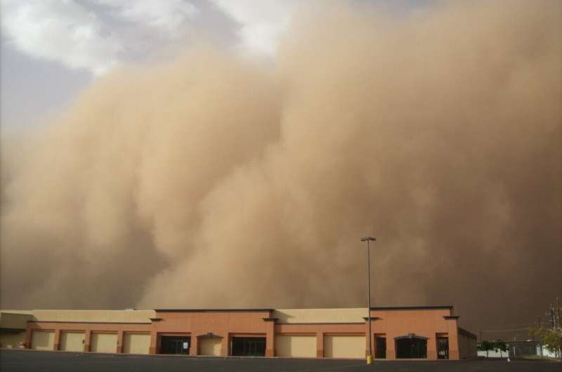 dust storm