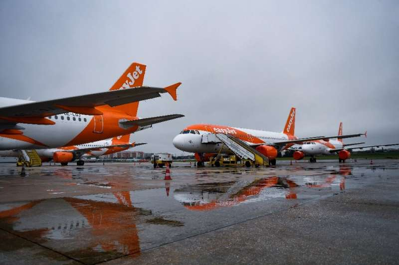 EasyJet grounded its entire fleet for more than two months due to the coronavirus pandemic