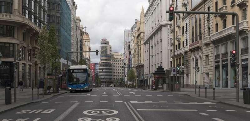 Economic activity has halved during Spain's coronavirus lockdown, study suggests