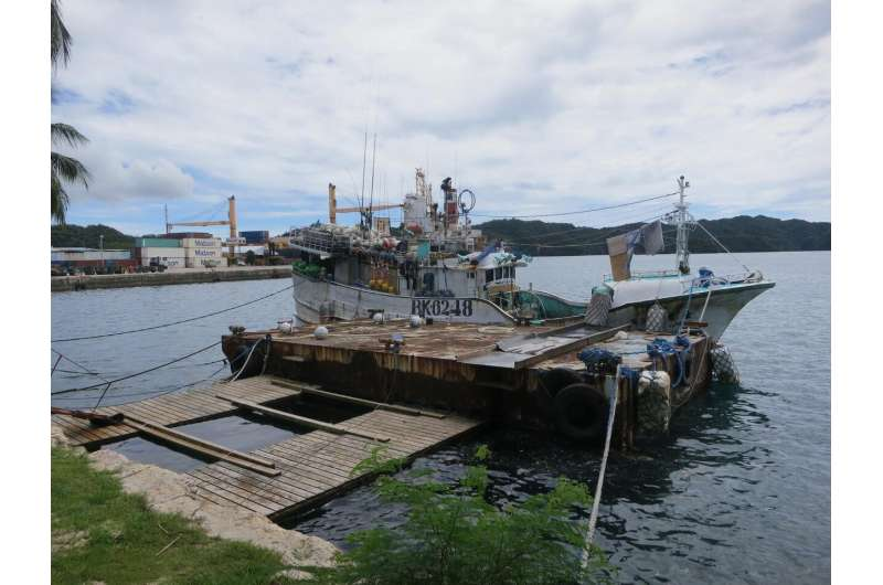 Effects of Palau fishing restrictions studied