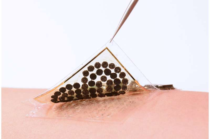 Electronic skin fully powered by sweat can monitor health