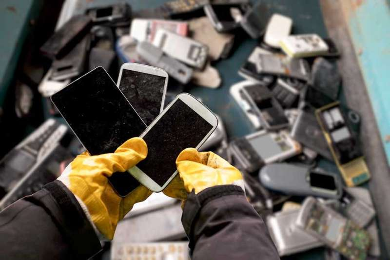 Electronic waste on the decline, new study finds