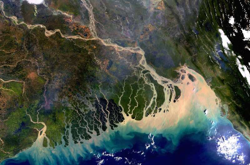 EMBARGOED  until January 06, 2020 at 21h00 Paris time    A better estimate of water-level rise in the Ganges delta