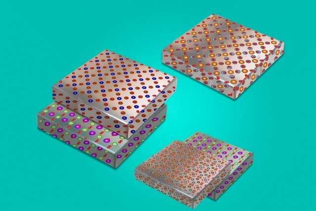 Engineers mix and match materials to make new stretchy electronics