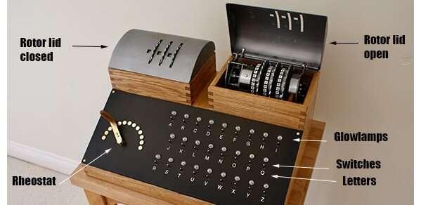 Enigma code-breaking machine rebuilt at Cambridge
