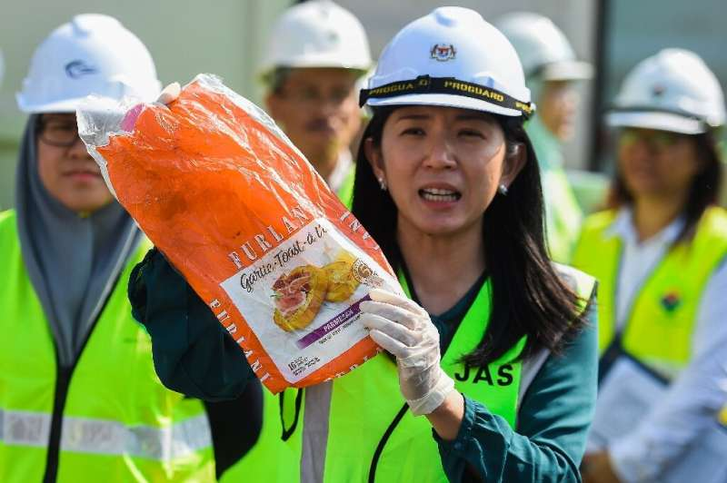 Environment Minister Yeo Bee Yin said Malaysia had returned 150 shipping containers of plastic waste to places including France,