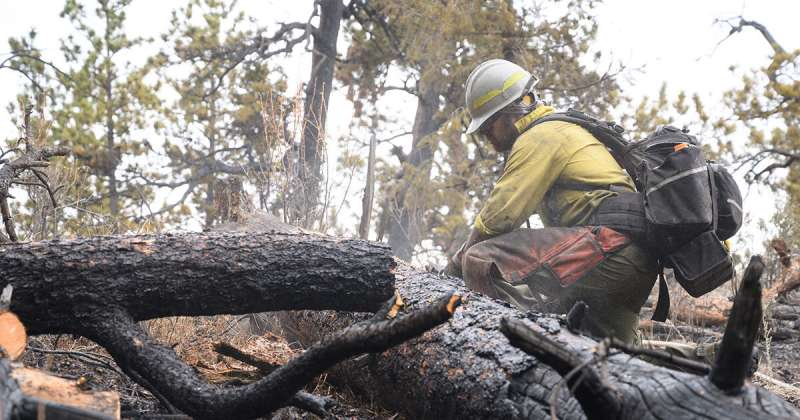 Epidemic model shows how COVID-19 could spread through firefighting camps