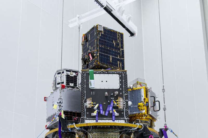 ESAIL maritime satellite ready for launch