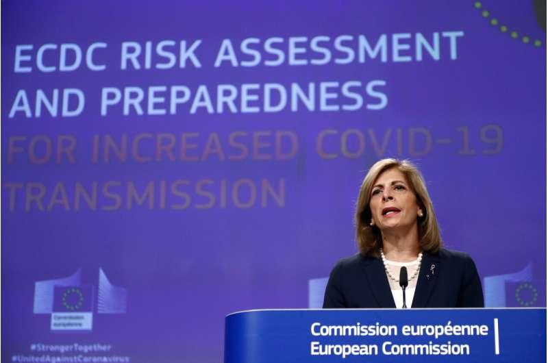 EU warns of slim window to avoid repeat of prior virus peak