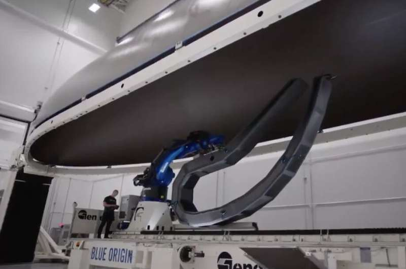Every part of Blue Origin's new Glenn rocket is gigantic, including its nose cone