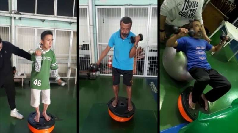 Exercise protocol mitigates one of the most incapacitating symptoms of Parkinson's disease