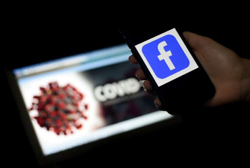 """Facebook users were asked to take surveys on infection symptoms to gather data for a """"heat map"""" to track the COVID-19"""