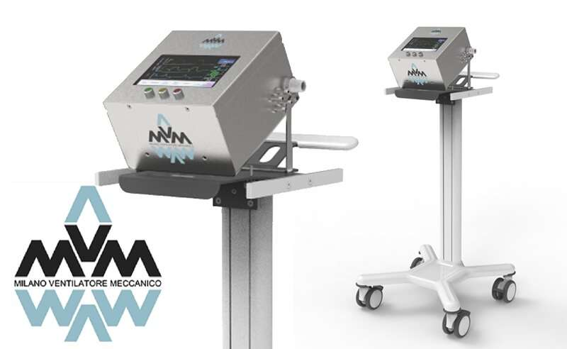 FDA approves ventilator designed by particle physics community