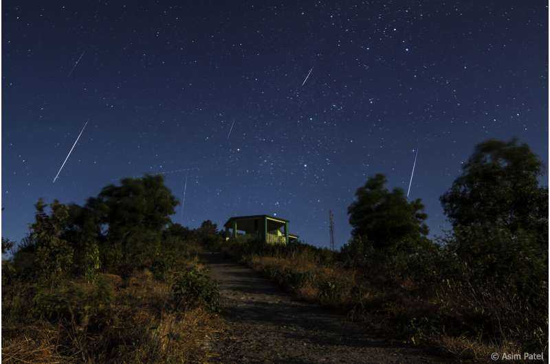 Festive treat for stargazers as Geminid meteors peak