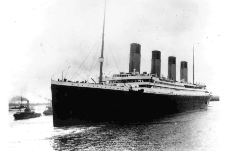 Firm wants to recover the Titanic's iconic telegraph machine