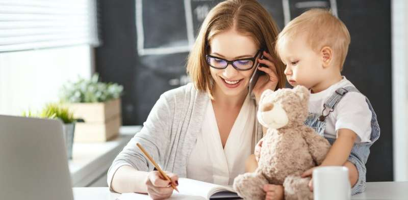 Five ways to support new parents returning to work during the pandemic