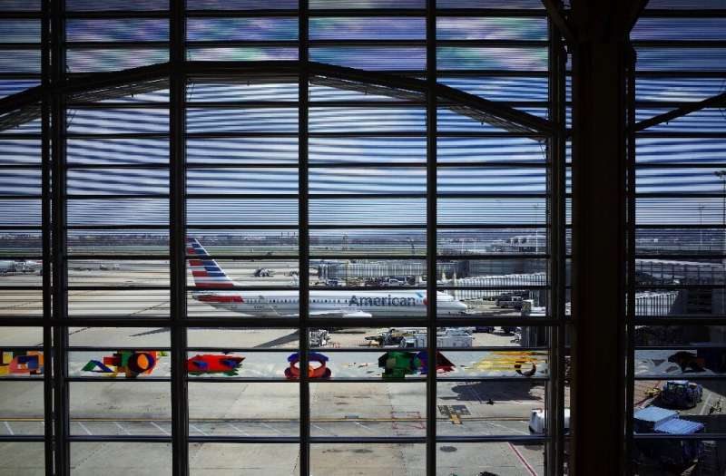 Flights from all US airlines have been grounded since mid-March 2020 as potential passengers stay home in coronavirus lockdowns