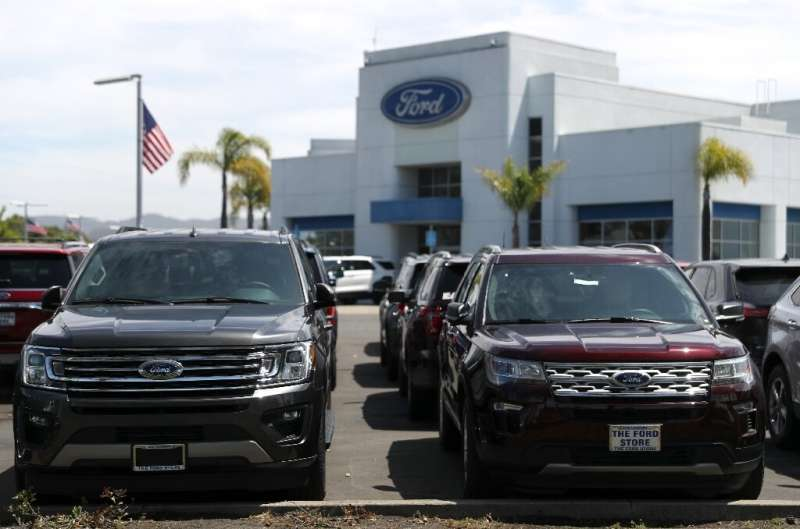 Ford said it expects a loss of about $2 billion in the first quarter as broad economic shutdowns throughout the US and Europe ha