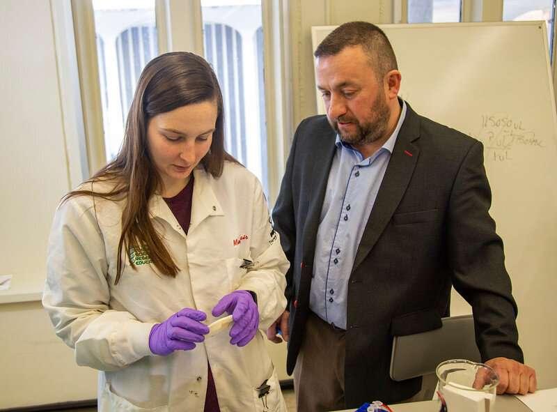 Forensic chemist detects marijuana-use based on sweat test